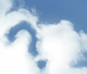 ハテナの雲